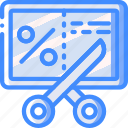 cut, marketing, price, retail, sales, selling icon