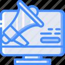 alert, desktop, marketing, retail, sales, selling icon