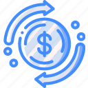 cycle, financial, marketing, retail, sales, selling icon