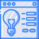 idea, marketing, retail, sales, selling, website icon