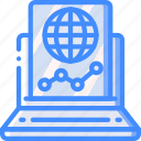 marketing, online, projections, retail, sales, selling icon
