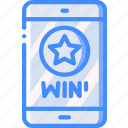 marketing, mobile, retail, sales, selling, win icon