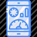 marketing, mobile, retail, sales, selling, speeds icon