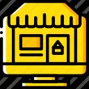 desktop, marketing, retail, sales, selling, store icon