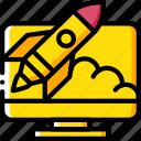 desktop, launch, marketing, retail, sales, selling icon