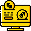 financial, marketing, retail, sales, selling, website icon