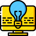 desktop, idea, marketing, retail, sales, selling icon