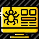 bug, desktop, marketing, retail, sales, selling icon