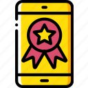 award, marketing, mobile, retail, sales, selling icon