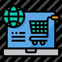 global, market, online, shopping, world