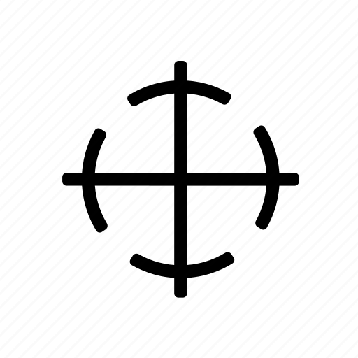 cargo, center, gravity icon