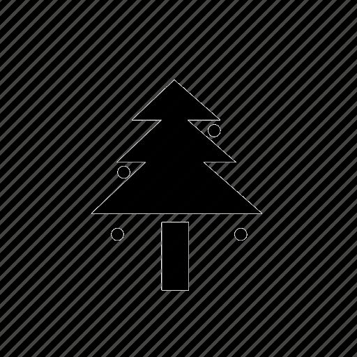 35, christmas tree icon