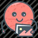 multimedia, mars, image, emoji