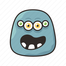 crazy, face, faces, funny, monster icon