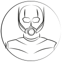 antman, avatar, hero, marvel hero icon