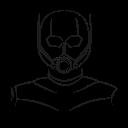 antman, avatar, hero, marvel hero icon
