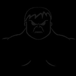 avatar, emotion, hulk, marvel hero icon