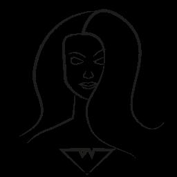 avatar, marvel hero, marvelgirl icon