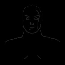 avatar, marvel hero, silver, surfer icon