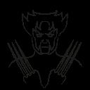 avatar, marvel hero, wolverine, x-man icon