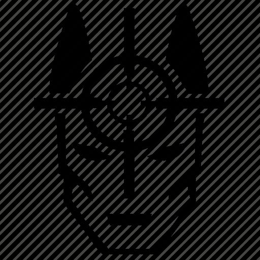 aim, batman, comics, death, evil, kill, target icon