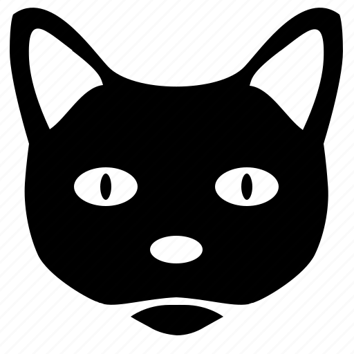 avatar, cat, face, head, smiley icon