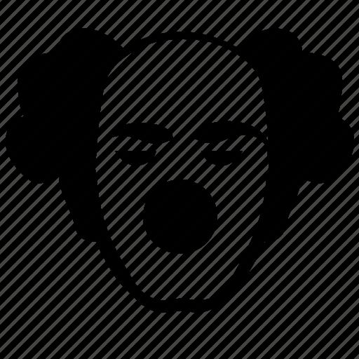 avatar, clown, comic, face, head, man, terrorist icon