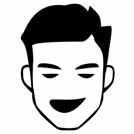 Bad, Boy, Comics, Face, Hero, Man, Smiley Icon