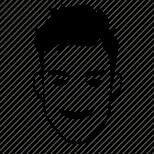 boy, comics, face, hero, male, man, smiley icon
