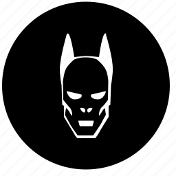 avatar, batman, dead, death, face, head, round icon