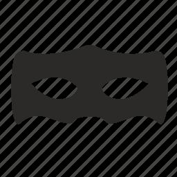 face, incognito, man, mask, secret icon