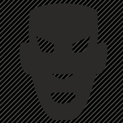 man, mask, negro, party icon
