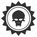 alien, avatar, face, head, round, star, ufo icon