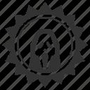 avatar, cinema, face, head, mask, scary, star icon
