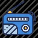 radio, program, recorder, music