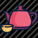 cup, drink, green, healthy, herbal, organic, tea icon
