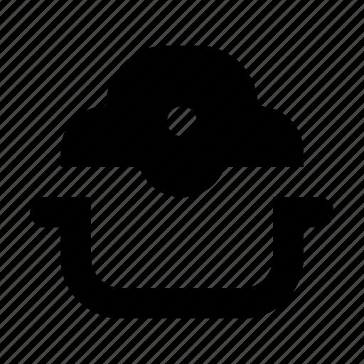 aerogrill, halogen, kitchen icon