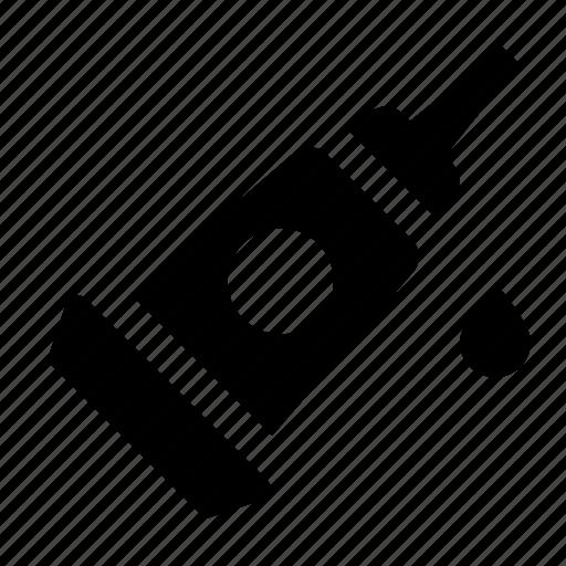 drop, glue icon