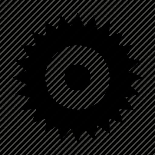 cogwheel, gear, industrial, mechanic icon