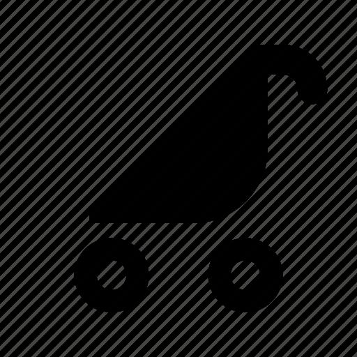 buggy, pram, stroller icon