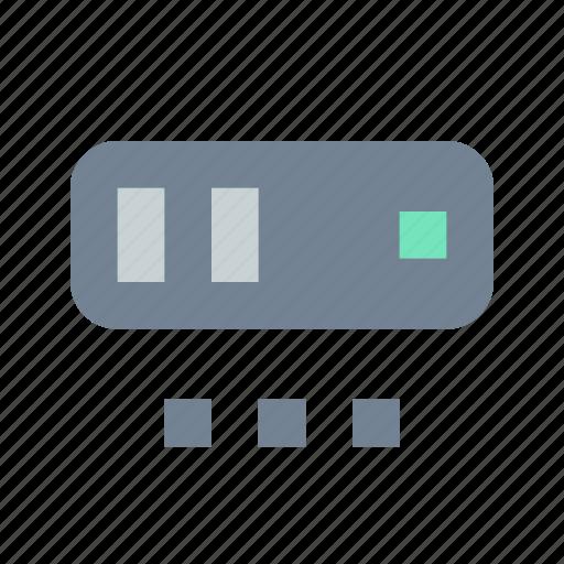 more, options, server icon