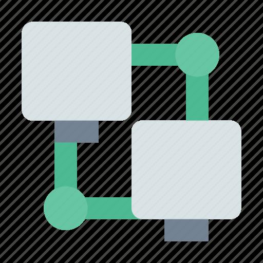 network, pc, workstation icon