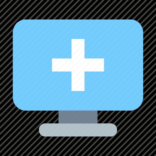 monitor, new, pc icon