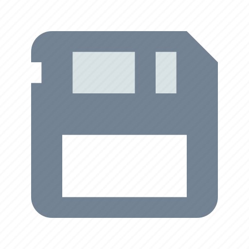 Diskette, floppy, save icon - Download on Iconfinder