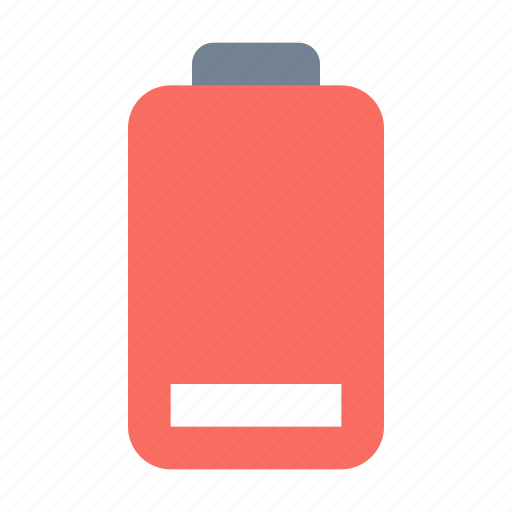 Battery, low icon - Download on Iconfinder on Iconfinder