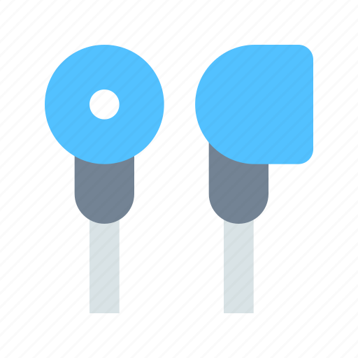 ear, headphones, in icon