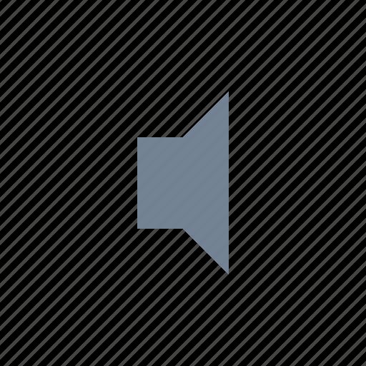 Low, volume, speaker icon - Download on Iconfinder