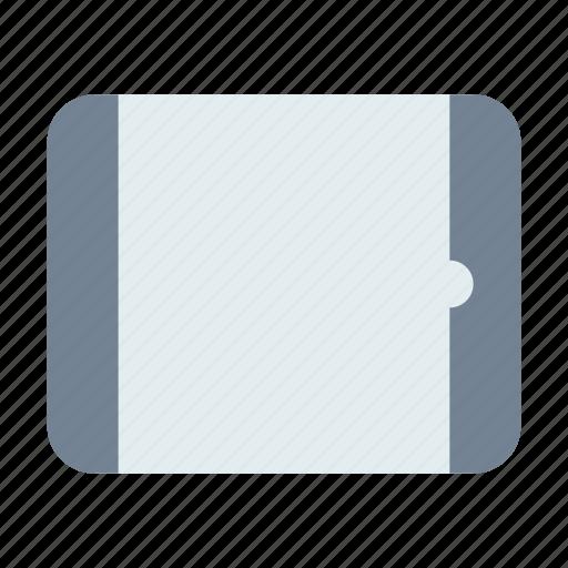 horizontal, ipad, tablet icon