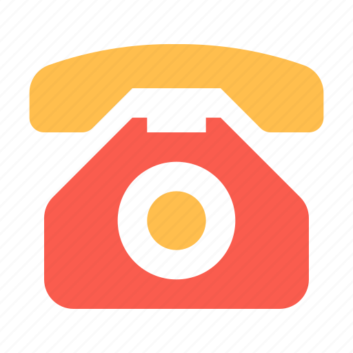 old, phone, retro icon