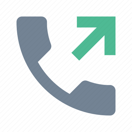 Call, mobile, outgoing icon - Download on Iconfinder